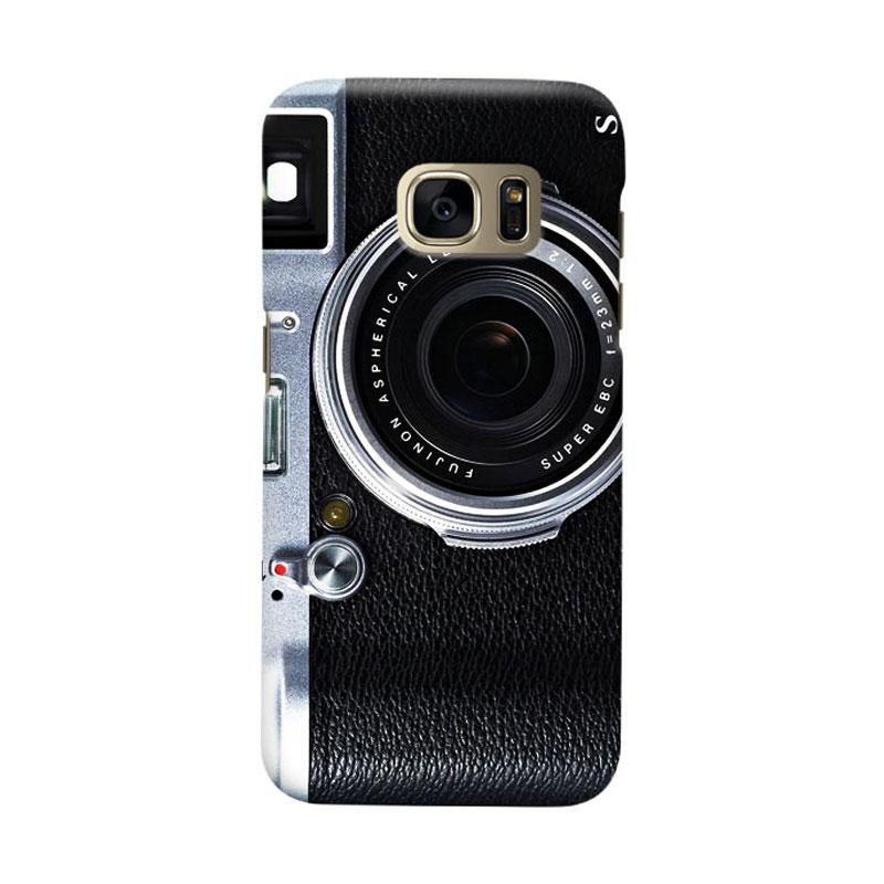 Indocustomcase Camera FF Cover Casing for Samsung Galaxy S6 Edge