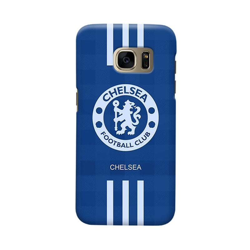 Indocustomcase Chelsea FC CFC06 Cover Casing for Samsung Galaxy S6 Edge