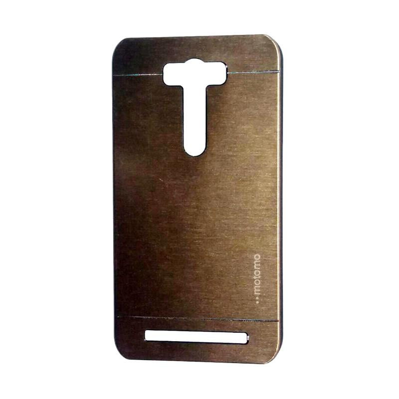 Motomo Metal Backcase Hardcase Casing for Asus Zenfone 2 Laser ZE550KL 5.5 Inch - Gold
