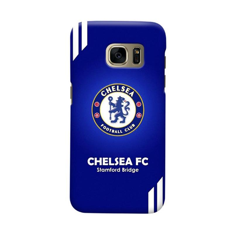 Indocustomcase Chelsea FC CFC07 Cover Casing for Samsung Galaxy S6 Edge