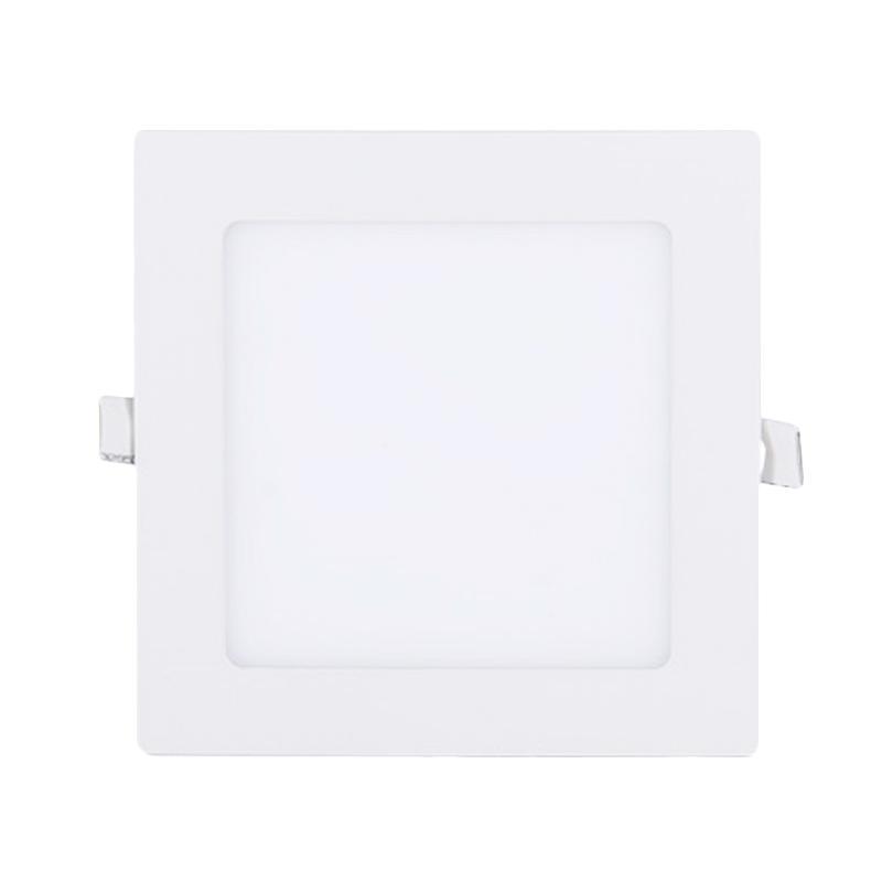 LED Square Downlight Panel Lampu - Warm White [12 W/Lifespan 50000 Jam/Garansi Full 1 Tahun]
