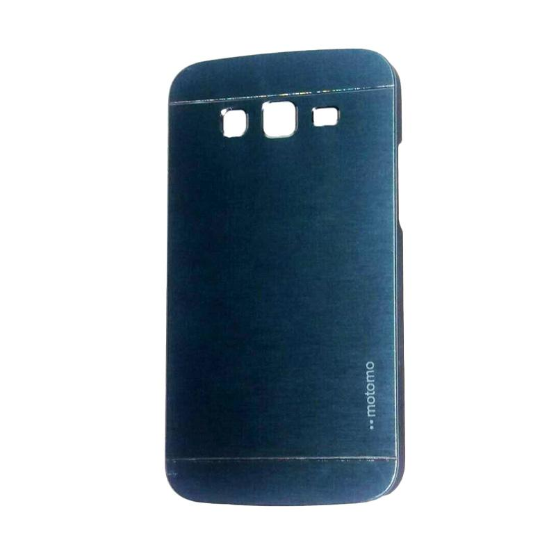 Motomo Metal Hardcase Backcase Casing for Samsung Galaxy Grand or I9082 - Dark Blue