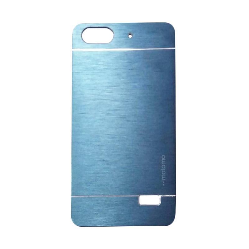 Motomo Metal Hardcase Casing for Huawei Honor 4C/Gplay Mini/Huawei 4C - Dark Blue