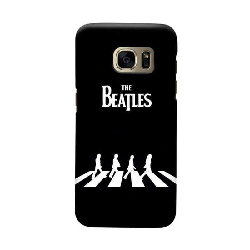 Indocustomcase Beatles Cover Casing for Samsung Galaxy S7 Edge