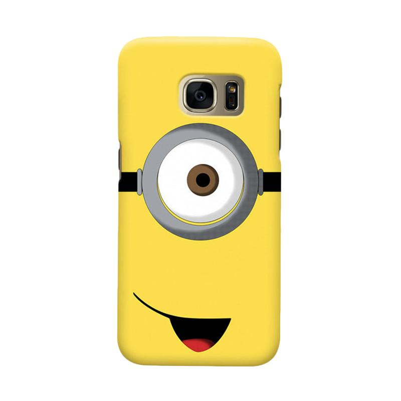 Indocustomcase Minion Cover Casing for Samsung Galaxy S7 Edge
