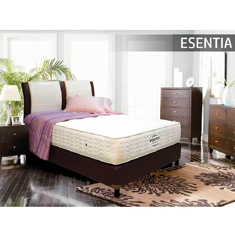 Porter Essentia Pocketed Spring Mattress Only Spring Bed Hanya Kasur