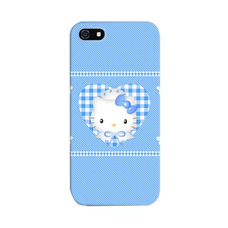 Indocustomcase Hello Kitty 04 Cover Hardcase Casing for iPhone 5/5S/SE