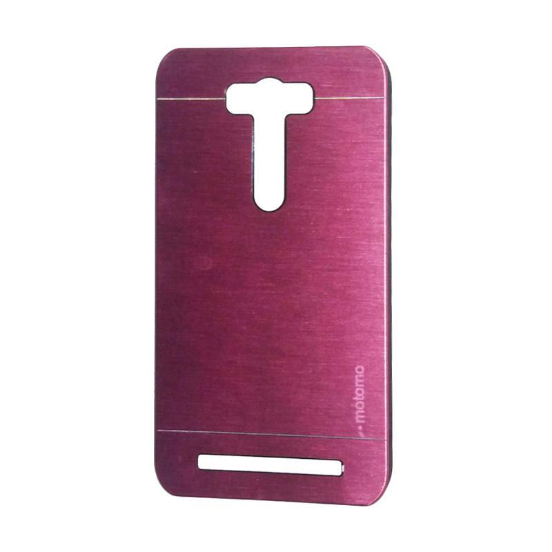 Motomo Metal Backcase Hardcase Casing for Asus Zenfone 2 Laser ZE500KL 5.0 Inch - Pink