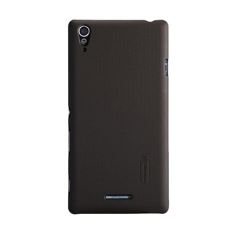 Nillkin Original Super Shield Hardcase Casing for Sony Xperia T3 - Brown [1mm]
