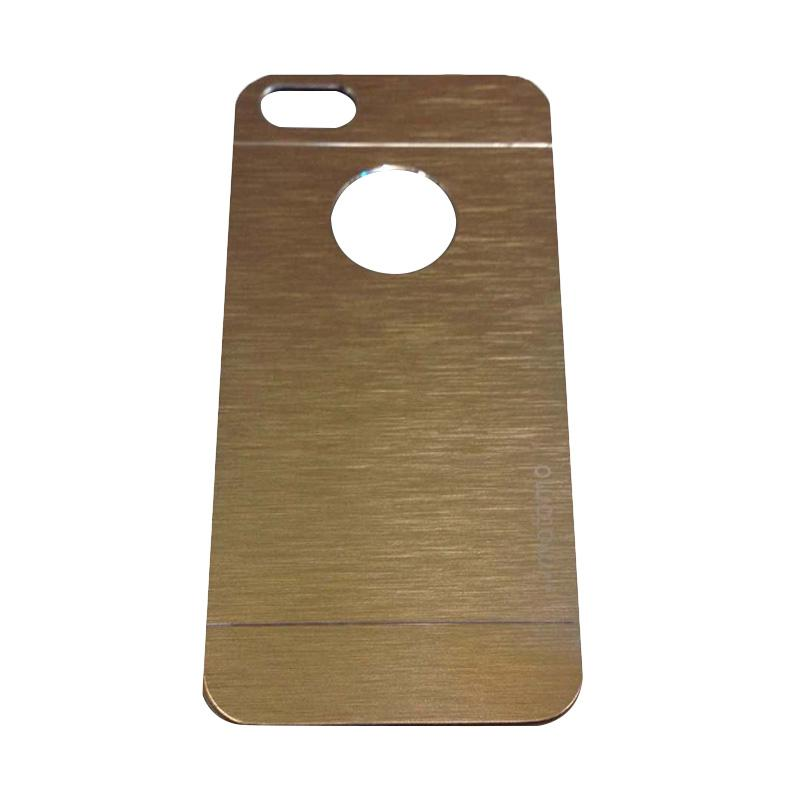 Motomo Metal Backcase Hardcase Casing for Apple iPhone 6 Plus iPhone 6 5.5 Inch - Gold