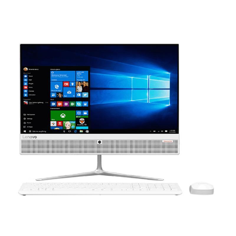Lenovo Ideacenter AIO 510-0EID 22ISH Desktop PC - White [Core i3 6100T/ 4GBDDR4/ 1TB/ R5 M435 2GB/ DOS/ 21.5 LED]