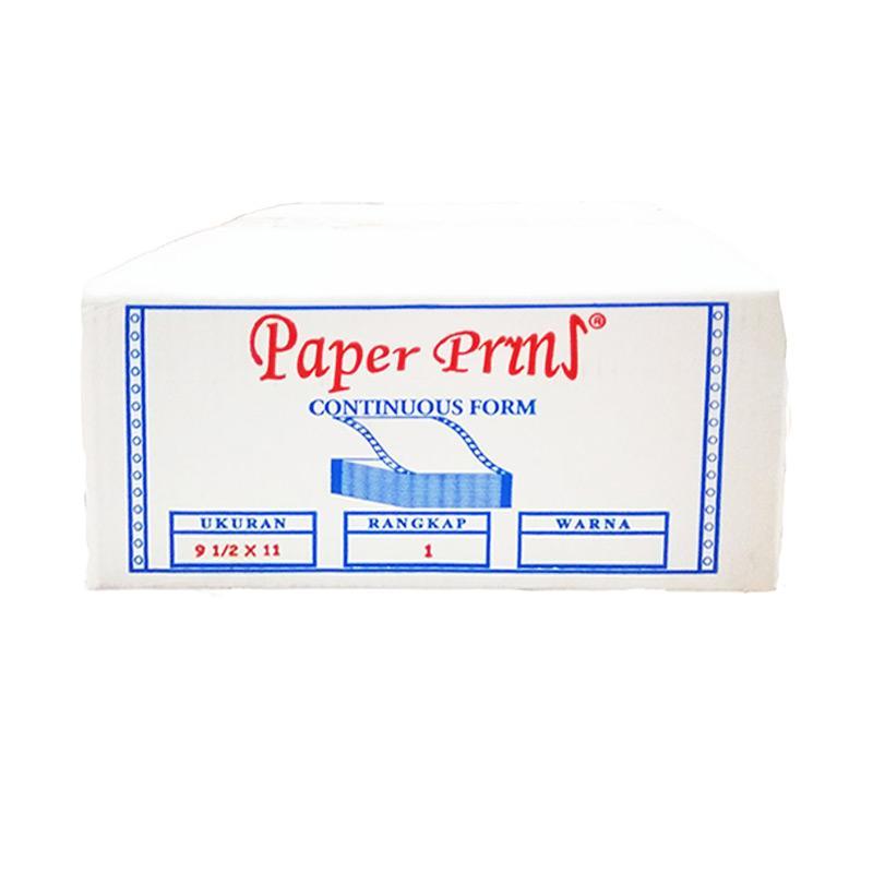 Paperpryns Continuous Form Computer Paper - Putih [9.5