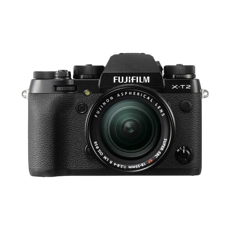 harga Fujifilm X-T2 Kit 18-55mm F2.8-4 Kamera Mirrorless + Screenguard | Ladang Elektronik Blibli.com