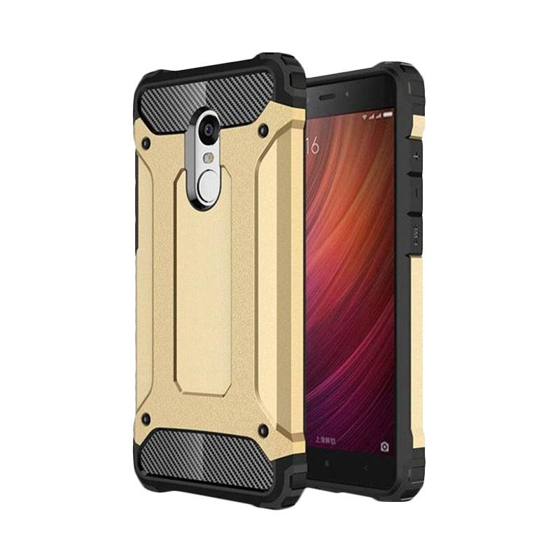 the best attitude f01a6 76a85 Spigen Transformers Iron Robot Hardcase Casing for Xiaomi Redmi Note 4 -  Gold