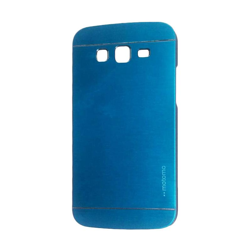 Motomo Metal Hardcase Backcase Casing for Samsung Galaxy Grand 2 or G7106 - Sky Blue