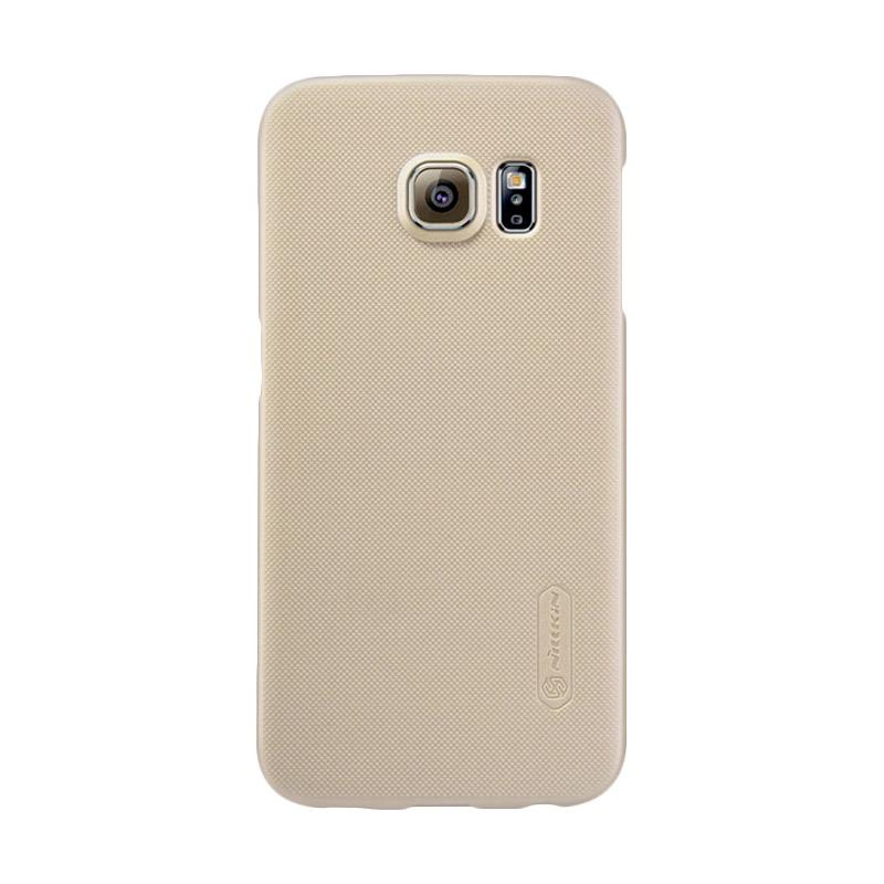Nillkin Super Shield Original Hardcase Casing for Samsung Galaxy S6 - Gold [1 mm]