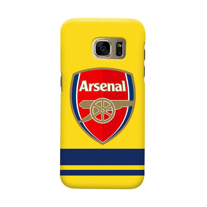 Indocustomcase Arsenal FC AFC10 Cover Casing for Samsung Galaxy S6 Edge