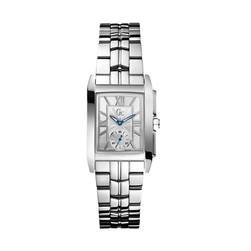 Guess Collection Gc X65001L1 Stainless Jam Tangan Wanita - Silver Blue