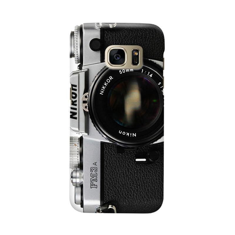 Indocustomcase FM3 Camera Cover Casing for Samsung Galaxy S7 Edge