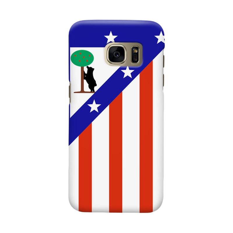 Indocustomcase Atletico Madrid Cover Casing for Samsung Galaxy S6