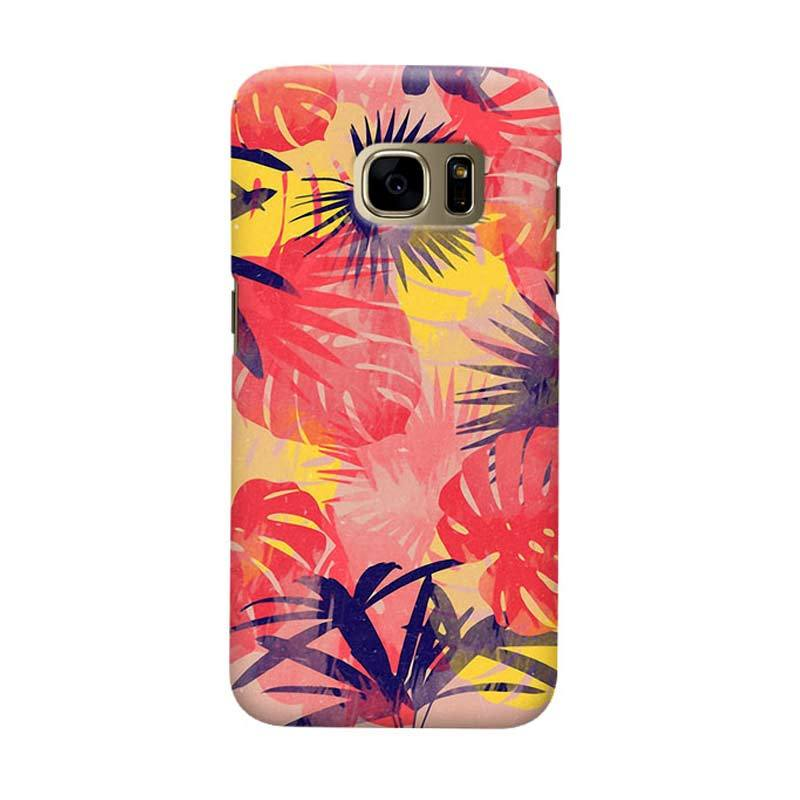 Indocustomcase Forest Casing Cover Casing for Samsung Galaxy S7 Edge