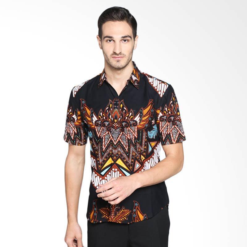 Batik Pria Tampan Mahkuto Parang Rojo Slim PKMPD-01163451P Kemeja Pria - Teak