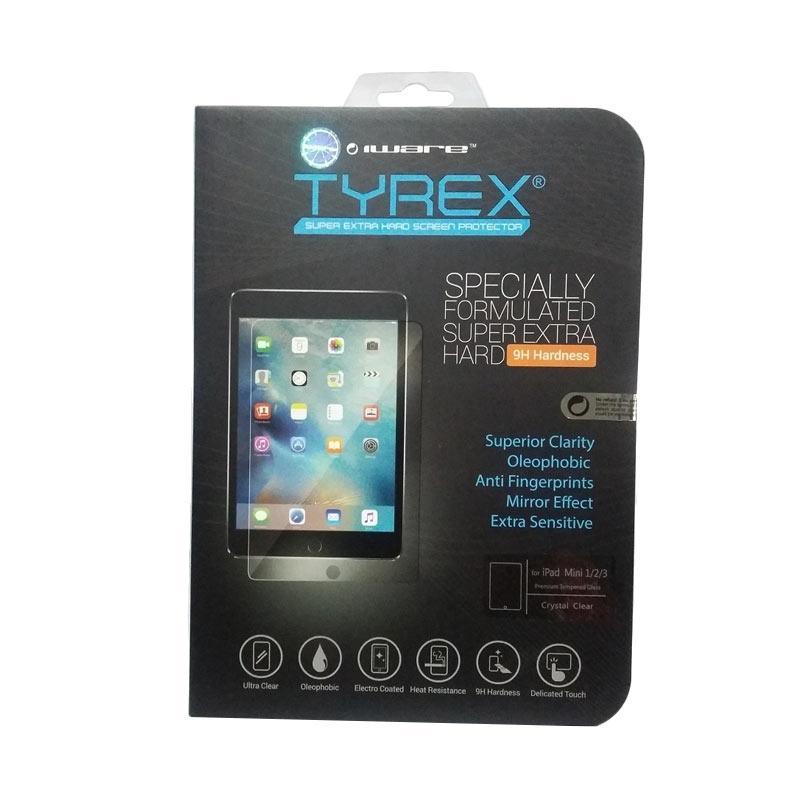 harga Tyrex Tempered Glass Screen Protector for Apple iPad Mini 1/ 2/ 3 - Crystal Clear Blibli.com