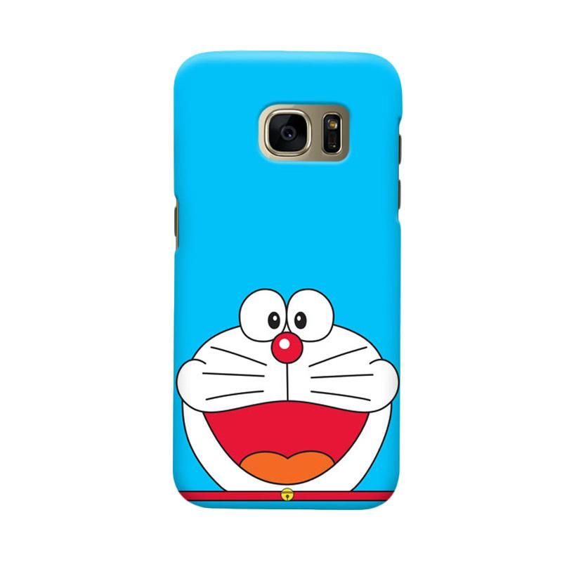 Indocustomcase Doraemon SC Cover Casing for Samsung Galaxy S7