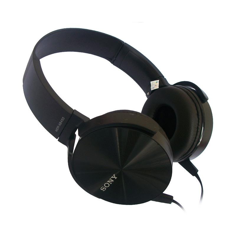 harga Universal Sony MDR-XB450AP Headset - Hitam/Black Blibli.com