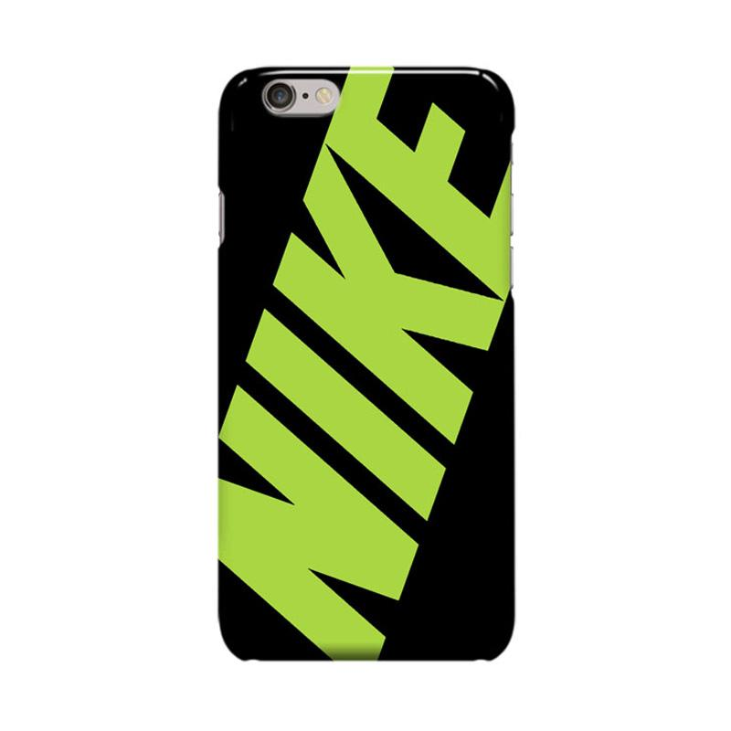 Indocustomcase Nike Green Casing for Apple iPhone 6 Plus or 6S Plus