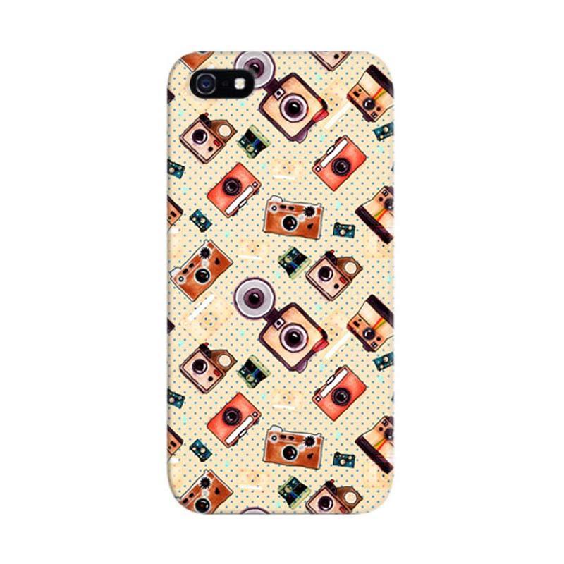 Indocustomcase I Camera Custom Hardcase Casing for Apple iPhone 5/5S/SE