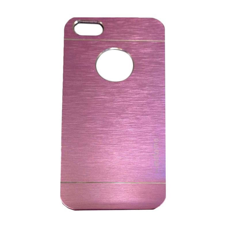 Motomo Metal Backcase Hardcase Casing for Apple iPhone 6 Plus iPhone 6 5.5 Inch - Pink