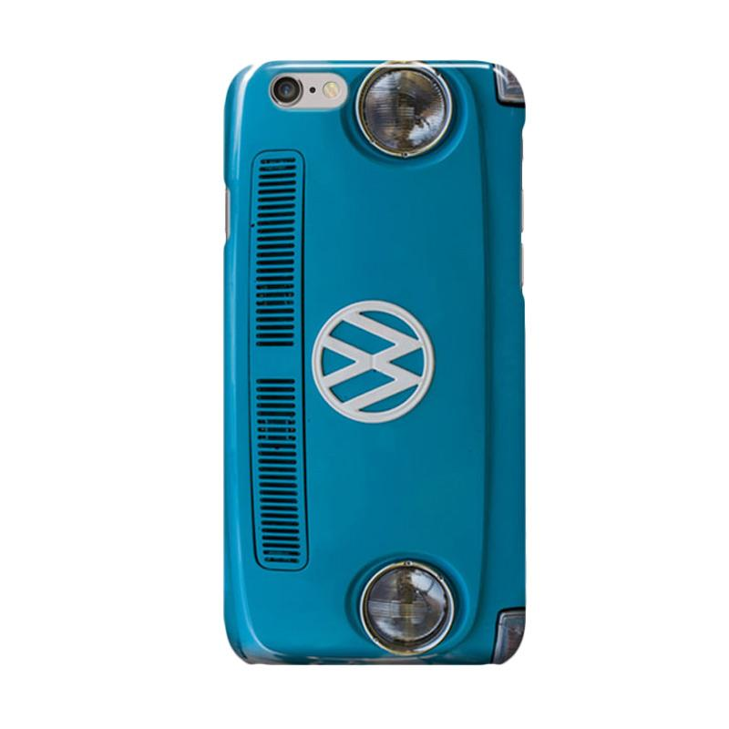 Indocustomcase VW Cover Casing for Apple iPhone 6 Plus or 6S Plus