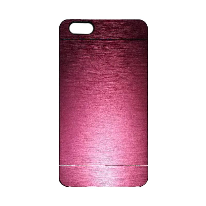 Motomo Metal Hardcase Backcase Casing for Huawei Honor 4X/Gplay/Huawei 4X - Pink