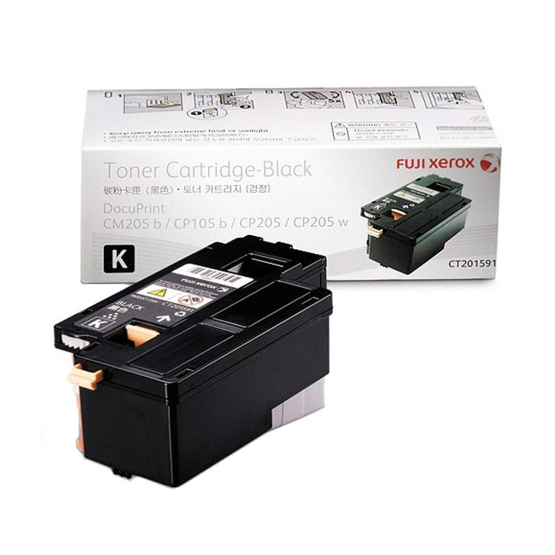 Fuji Xerox CT201591 Toner untuk Printer Docuprint CP105b or CP215w - Black [2000 Halaman]