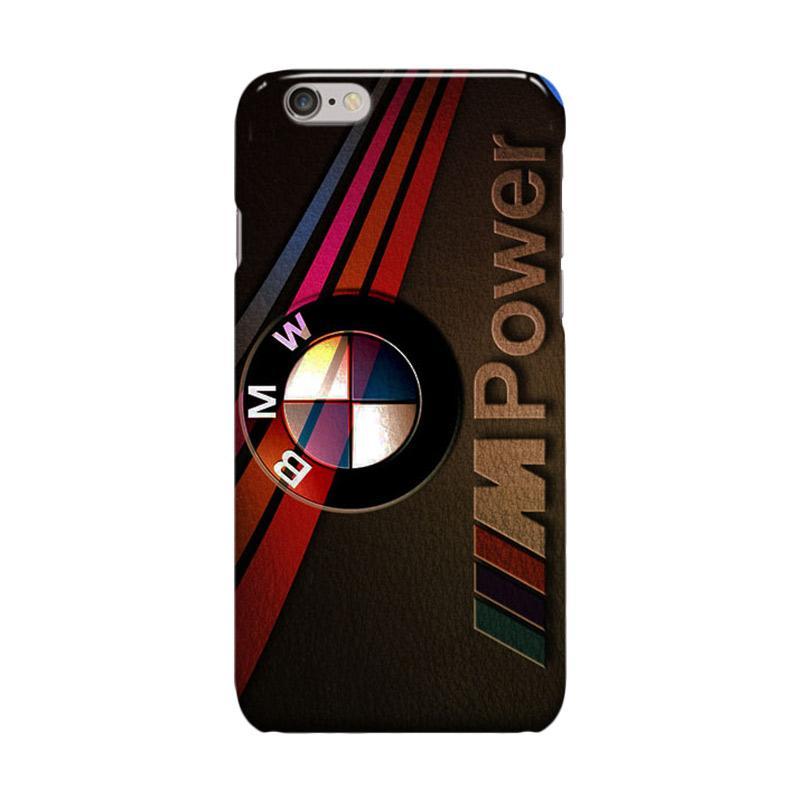 Indocustomcase BMW Cover Casing for Apple iPhone 6 Plus or 6S Plus