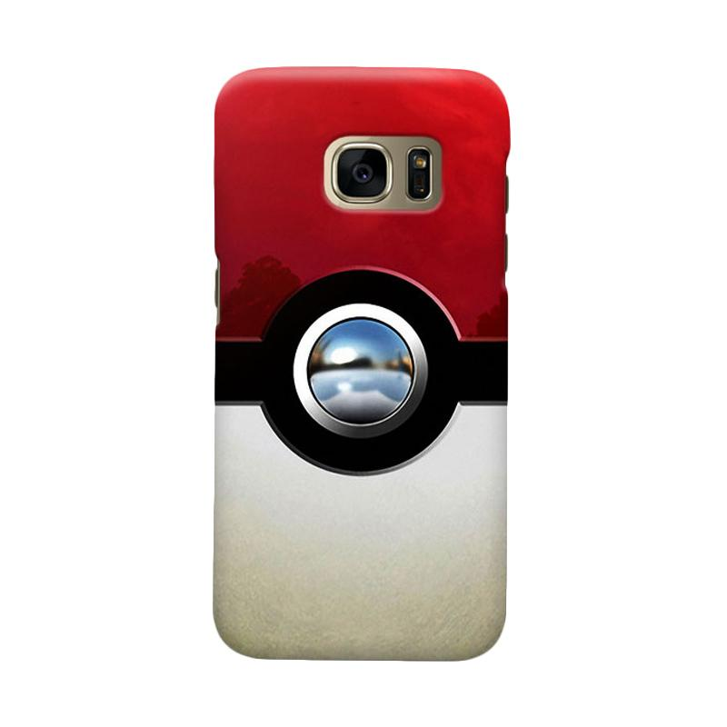 Indocustomcase PokeBall Casing for Samsung Galaxy S6 Edge