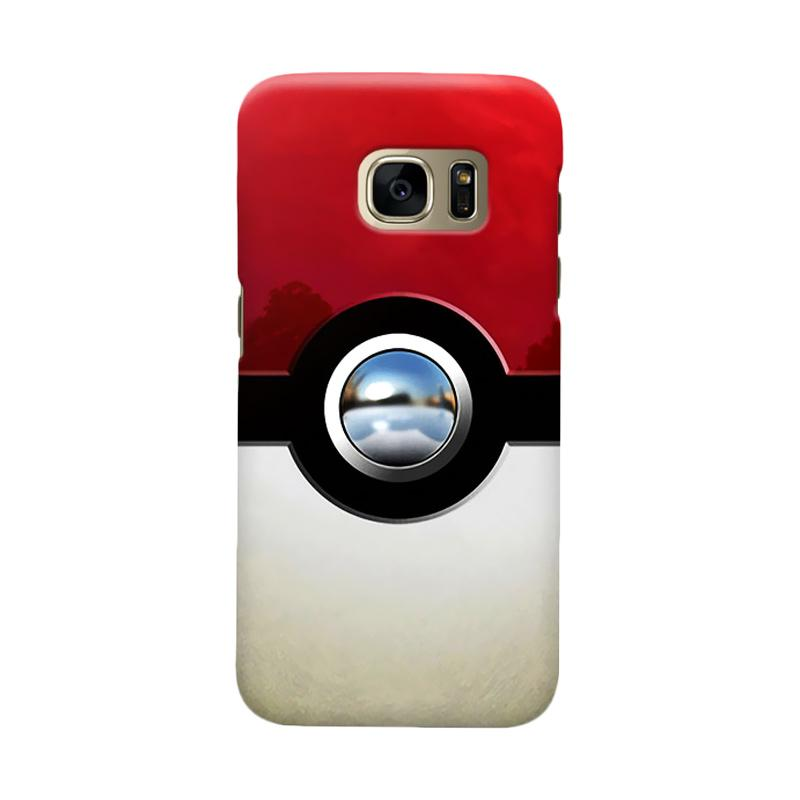 Indocustomcase PokeBall Casing For Samsung Galaxy S7 Edge