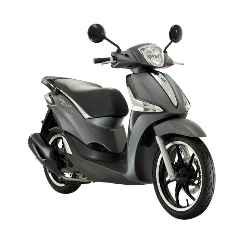 harga Vespa Piaggio New Liberty 150 ABS S i-Get Sepeda Motor - Grigio Titanio [OTR Bandung] Blibli.com