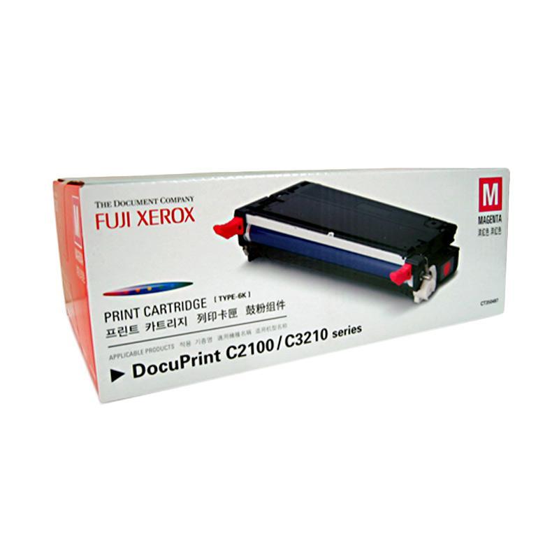 Fuji Xerox CT350483 Toner untuk Printer Docuprint C2100 or C3210DX - Magenta [2000 Halaman]
