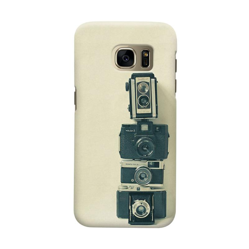 Indocustomcase Camera Colection Cover Casing for Samsung Galaxy S7