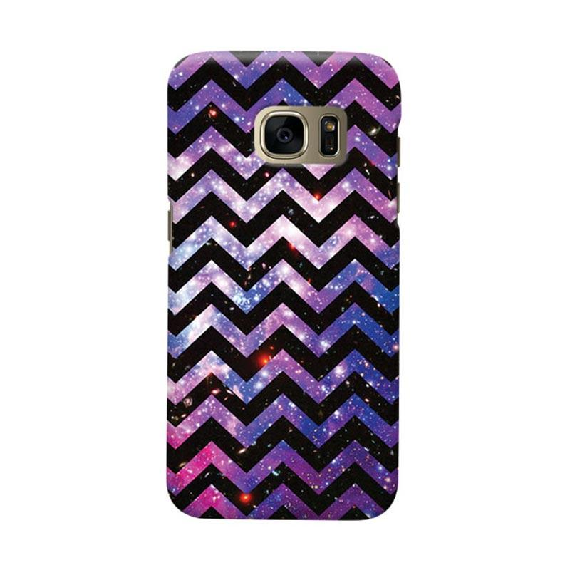 Indocustomcase Chevron Galaxy Cover Casing for Samsung Galaxy S7