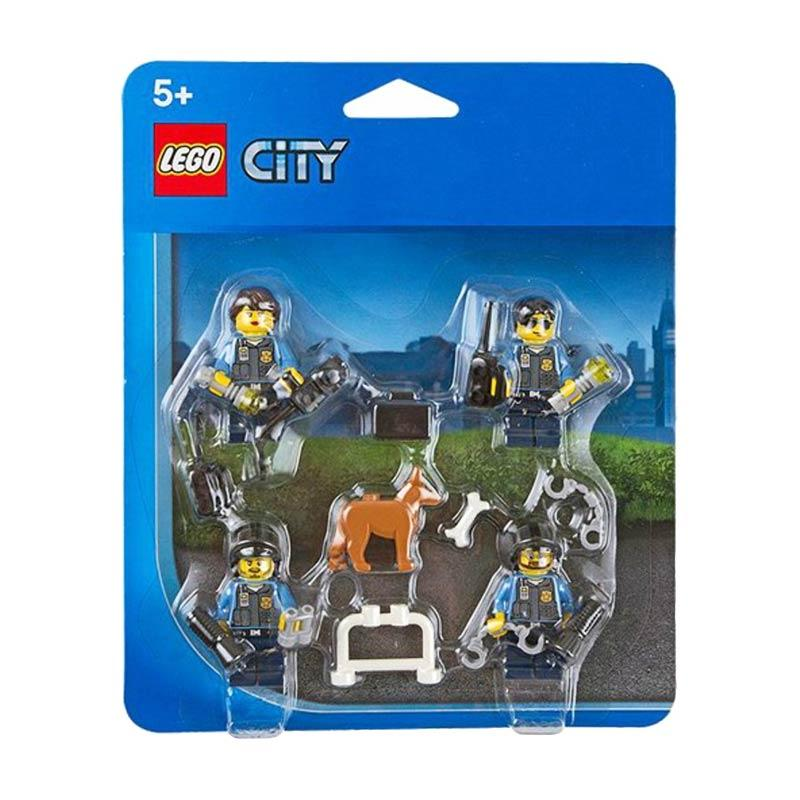 LEGO City Police Officers & Dog Minifigure Accessory Pack 850617 Blocks & Stacking Toys