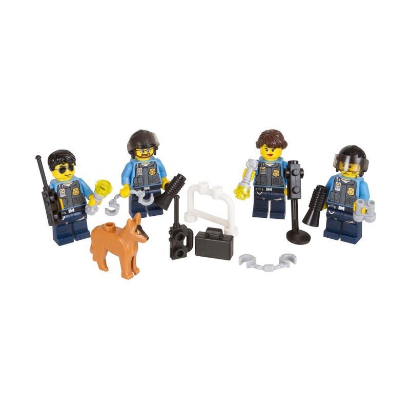 Jual Lego City Police Officers Dog Minifigure Accessory Pack