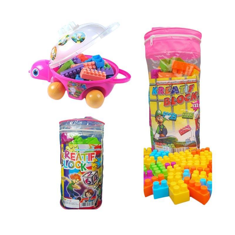 harga Monday Moms Day - Ocean Toy Paket Creative Block Mainan Anak - Multicolor [Isi 3 Pcs] Blibli.com