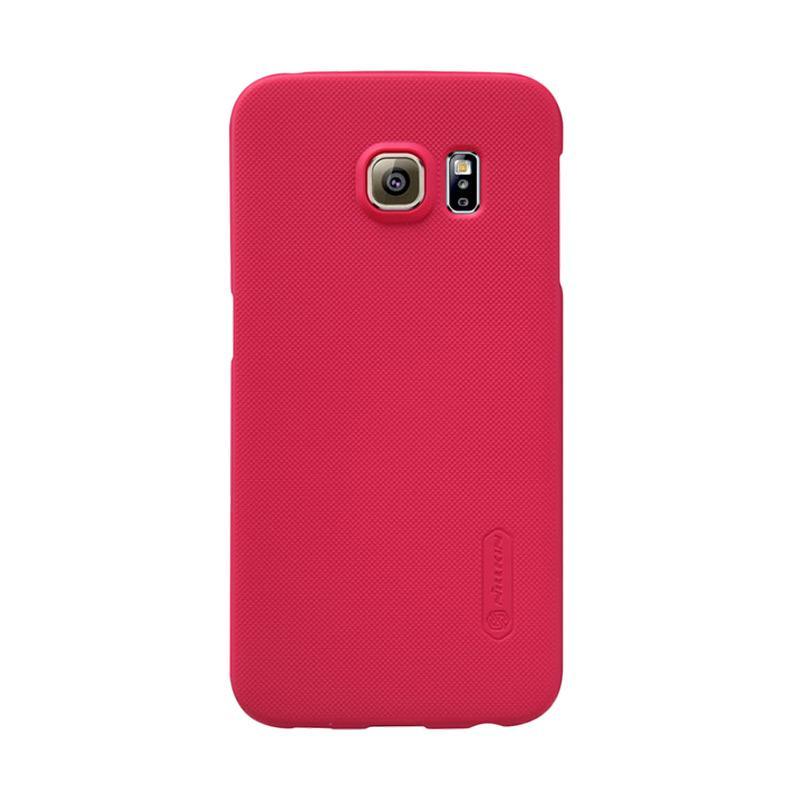 Nillkin Super Shield Hardcase Original Casing for Samsung Galaxy S6 Edge - Red [1 mm]