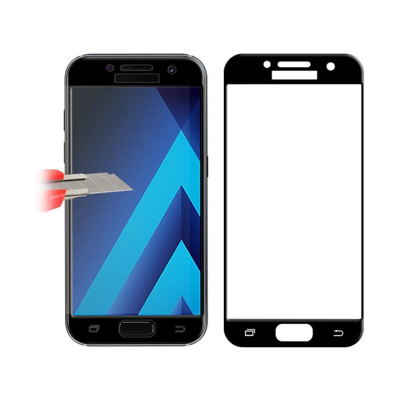 Jual HMC Tempered Glass Screen Protector for Samsung Galaxy J2 Prime - List Black [3D