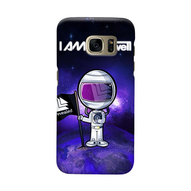 Indocustomcase Hardwell Cover Casing for Samsung Galaxy S6 Edge