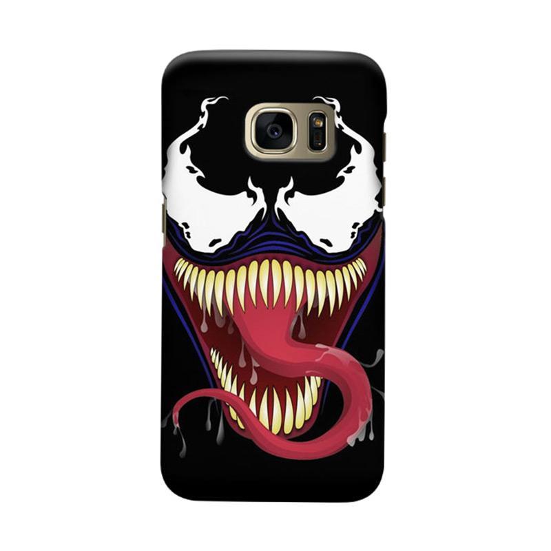 Indocustomcase Venom RB Cover Casing for Samsung Galaxy S7 Edge