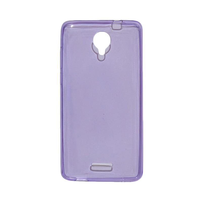 VR Ultrathin Silicone Jelly Softcase Casing for Smartfren Andromax L - Purple